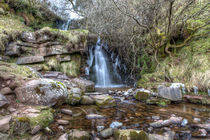 Winter Waterfall II von David Tinsley