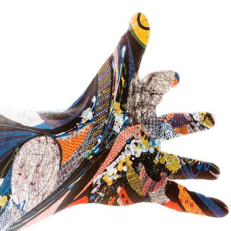Batik-print-hand