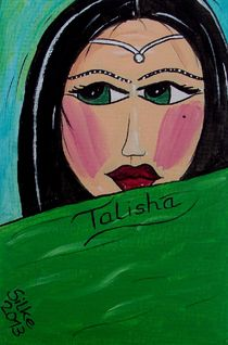 """Talisha"" by Silke Heil-Sandberg"