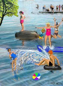 Sommer-Badefreuden by Heidi Schmitt-Lermann