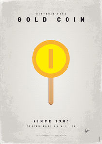 My NINTENDO ICE POP - Gold Coin by chungkong