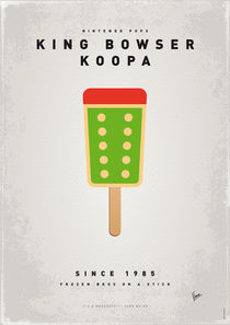 My NINTENDO ICE POP - King Bowser von chungkong