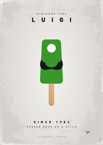 My NINTENDO ICE POP - Luigi by chungkong