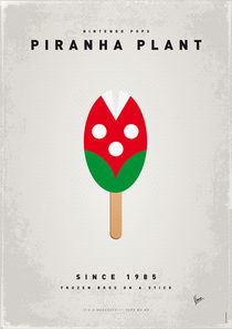 My NINTENDO ICE POP - Piranha Plant by chungkong