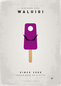 My NINTENDO ICE POP - Waluigi by chungkong