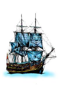 Sea ship marine by Rafal Kulik