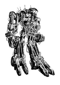Robot cyborg von Rafal Kulik