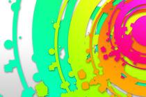 abstract color design art von Rafal Kulik