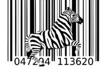 zebra barcode design art idea by Rafal Kulik