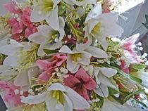 Tiger Lily - Tigerlilienstrauß - Seidenblumen von Eva-Maria Di Bella