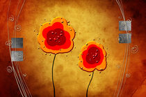 flower color idea fun abstract by Rafal Kulik