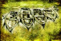 boat sea art design drawing von Rafal Kulik