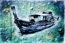 boat sea art design drawing von Rafal Kulik