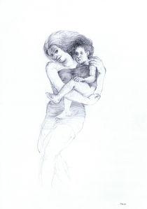 Mutter und Kind von Hans Jürgen Diez