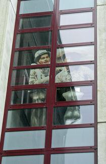 Blick aus dem Fenster, Theater in Hagen, Westfalen von Eva-Maria Di Bella