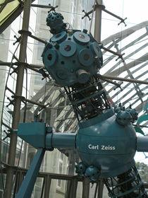 Carl-Zeiss-Skulptur in Jena, Thüringen by Eva-Maria Di Bella