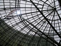 Gegenlicht! Blick durch das Dach der Goethegalerie in Jena by Eva-Maria Di Bella