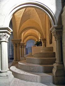 Altar im Naumburger Dom St. Peter und Paul von Eva-Maria Di Bella