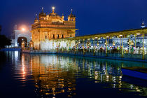 The Golden Temple in Amritsar. von Tom Hanslien