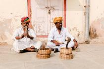 Snake charmers, Jaipur. by Tom Hanslien
