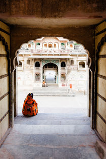 Galta (The Monkey Temple), Jaipur. by Tom Hanslien