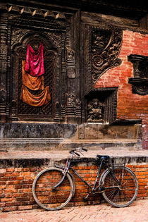 Durbar Square in Bhaktapur. by Tom Hanslien