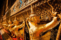 Garudas at Wat Phra Kaew. by Tom Hanslien