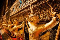 Garudas at Wat Phra Kaew. von Tom Hanslien