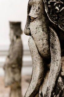 'Chinese Sculptures in Wat Pho.' by Tom Hanslien