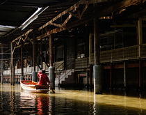 The Damnoen Saduak Floating Market. von Tom Hanslien