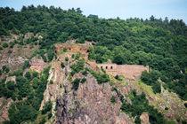 Burg Rheingrafenstein 25 by Erhard Hess