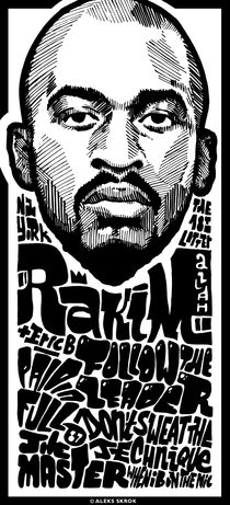 'Rakim' by Aleks Skrok