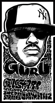 Guru (Gangstarr) von Aleks Skrok