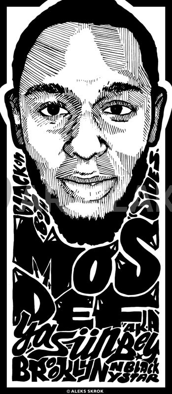 Mos Def By Aleks Skrok