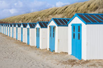 Strandhütten auf Texel von Michael Vetter