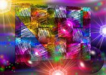 Grafisches Farbenspiel - LICHT UND FARBE von Eckhard Röder