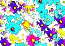 POP - ART  Blütenträume                              von Eckhard Röder