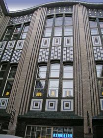Berlin - Fassade der Hackeschen Höfe (2) by Eva-Maria Di Bella
