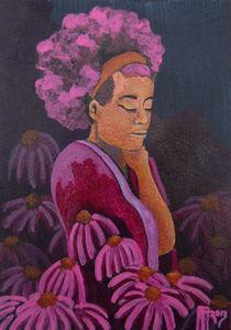 echinacea by Anna Asche
