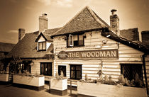 The Woodman Pub by David Pyatt
