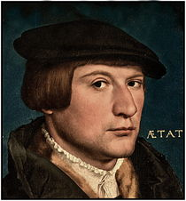 HOLBEIN.PORTRAIT OF YOUNG MAN von Maks Erlikh