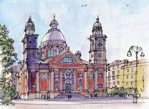 Chiesa a Carignano (Genova) by Luca  Massone