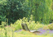 Erholung im Lavendel II von Silke Bicker