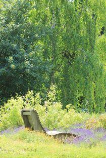 Erholungsplatz im Lavendel I by Silke Bicker