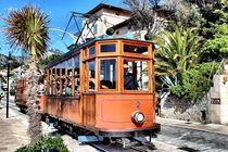Historische Straßenbahn in Port de Soller (Mallorca) von Bastian Altenburg