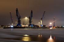 Hafenkräne von fotolos