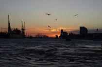 Abends an der Elbe by fotolos