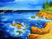 Meeresbrandung   by Peter Schmidt