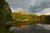 Schloss Ballenstedt mit See by Daniel Kühne