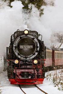 Harzer Schmalspurbahn im Winter by Daniel Kühne